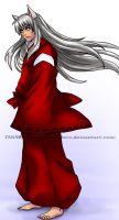 Inuyasha, here doggy by Roots-Love