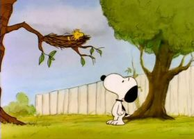 Snoopy And Woodstock by dogtagmike