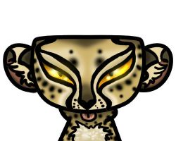 Kizer Face Challenge Cheetah by Eviecats