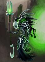 Necron Lord by PanaGo76