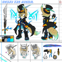 CE: Scuro the Jackal Reference Sheet by shadowhatesomochao
