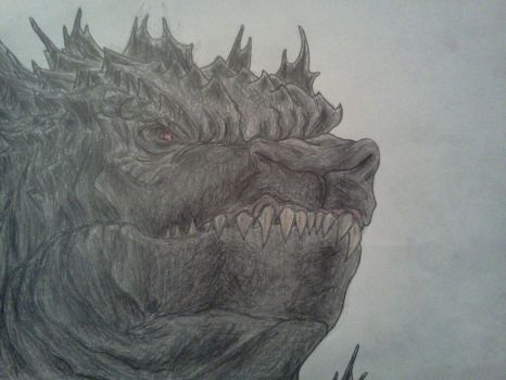 GODZILLA, UP CLOSE AND PERSONAL by Kongzilla2010