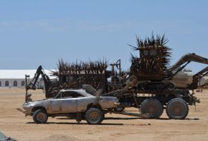 Mad Max 4 Fury Road Saw Truck 3 by MALTIAN