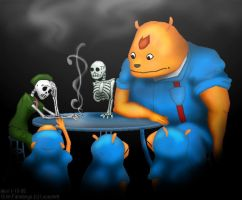 Grim Fandango-End of the Dance by Akril15