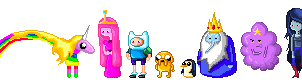 Pixel Adventure Time Cast by vanishing-trees