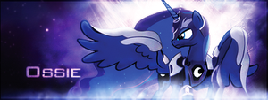 MLP - Princess Luna Forum Signature by ossie7