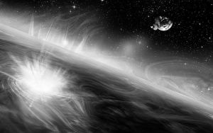 Deep Space BW by MediaDesign