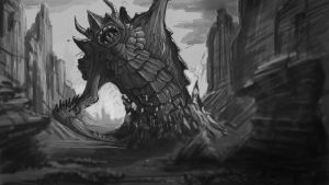 monster appears by JOVictory