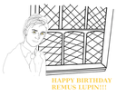 Happy Birthday Remus Lupin by Mairelyn