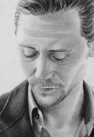 Tom Hiddleston by VikkyIo