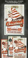 Vintage Christmas Card by elisamaggit