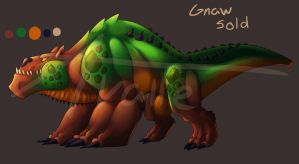 Adoptable:Gnaw (sold) by UndeadKitty13
