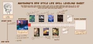 LEvel Up Chart sample by mayshing