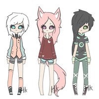 adoptables #18 -TAKEN- by HunterKili