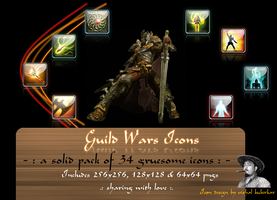 Guild Wars Icons by vishal-kuberkar