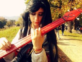 Marceline Cosplay 3 - Lucca2013 by NicoHelen