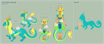 SoF - Tlalli Reference Sheet by theRainbowOverlord