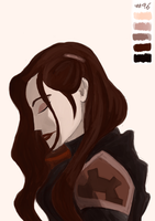Asami - Colour Palette Challenge #96 by theroguesigil