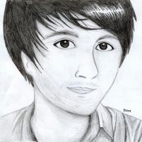 Adam Young portrait (first drawing) by SpongePersa