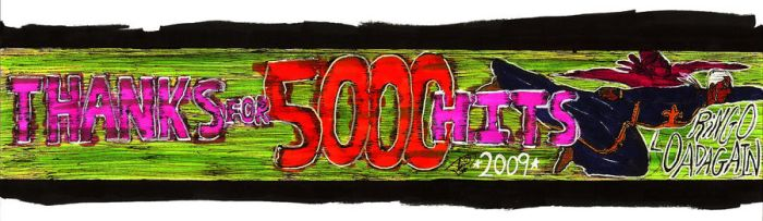 Thanks for 5000 hits by Loadagain