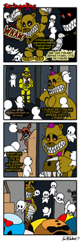 Springaling 258:The Elephant Graveyard in the Room by Negaduck9