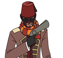 Ablaze Tomb's Spy Loadout by Nylten