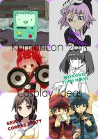 Kumoricon 2013 Cosplay Ideas by molly8125