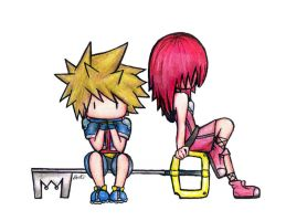 Kingdom Hearts - Waiting by xbooshbabyx
