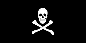 Jolly Roger (SVG) by FametSuri