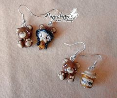 Cute indian earrings by AyumiDesign