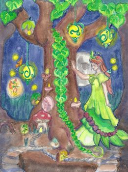 Faerie Tree by DaggerRavionFall