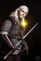 The Witcher - Geralt by GreatQueenLina