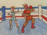 Human RD and AJ Boxing by Holycrap1992