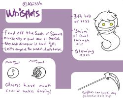 Whisplet Species Info + Customs ALWAYS Open by Abissh