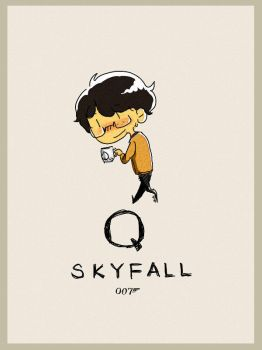 Wallpaper Skyfall Q by SaerwenApsenniel
