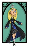 Luna Lovegood by kissyushka