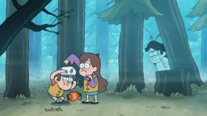 Gravity Falls with Jeff by simotaku
