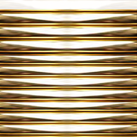 Gold Rippled Tubing 1 by LilipilySpirit