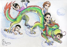 Dragon's Year by Kanis-Major