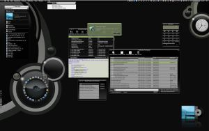 Black Gloss CCI 2.6 Desktop by marsmuse