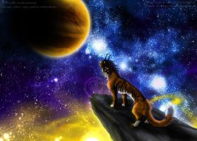 Space Lion by soulspoison