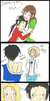 Hetalia Crack Pairings ADDED by TOXiC-ToOtHpAsTe