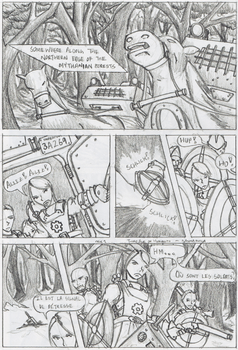 Third Age of Humanity - Page 1 by ultrapunk