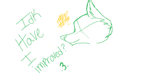 Haven't Drawn Wolves In A While So by Fluffle-Puffz