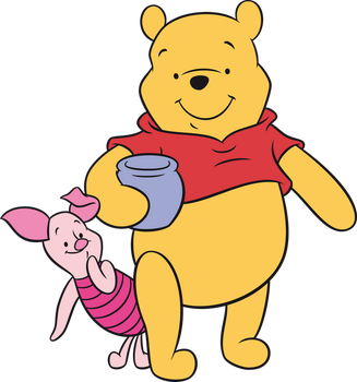 Winnie and Piglet by ireprincess