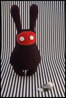 BunnyBoo Plush Black by MonstriBoo