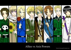 Hetalia: Allies vs Axis Powers by JazminKitsuragi