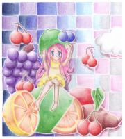 Fruit Girl by kotrwongse