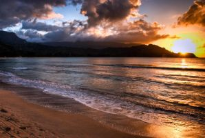 Kauai, Beach by alierturk