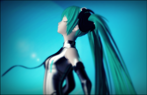 Kuroyu Append Miku by ElyStrife